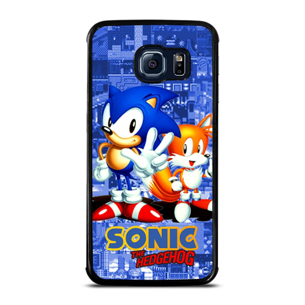 SONIC THE HEDGEHOG AND TAILS Cover Samsung Galaxy S6 Edge