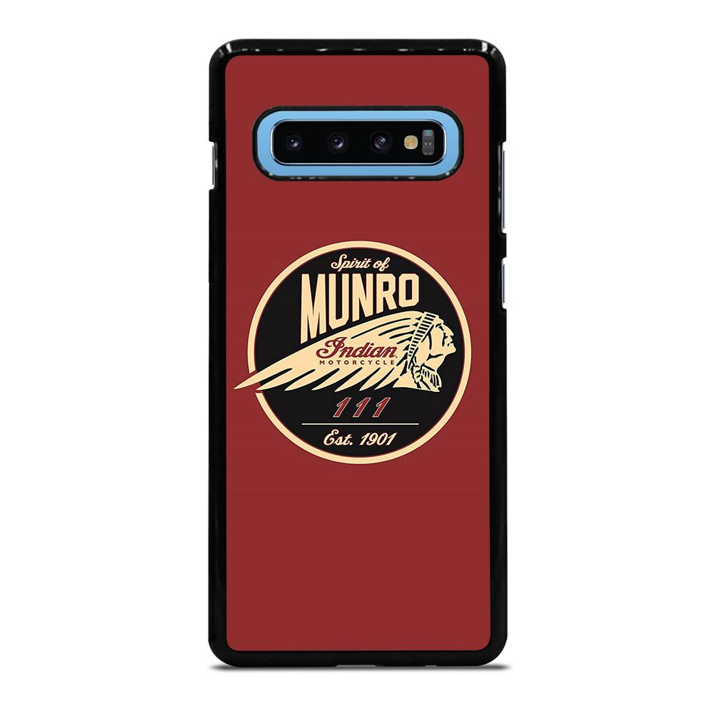 SPIRIT OF MUNRO INDIAN MOTORCYCLE Cover Samsung Galaxy S10 Plus