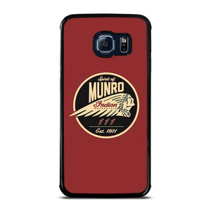 SPIRIT OF MUNRO INDIAN MOTORCYCLE Cover Samsung Galaxy S6 Edge