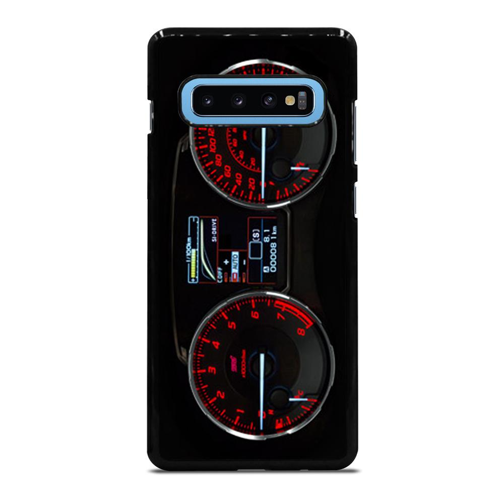 SUBARU IMPREZA WRX STI LCD DISPLAY Cover Samsung Galaxy S10 Plus