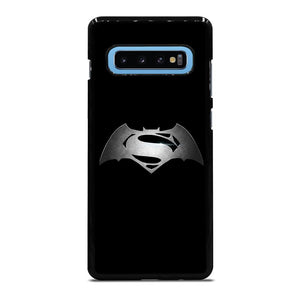 SUPERHEROES SUPERMAN VS BATMAN ICON Cover Samsung Galaxy S10 Plus