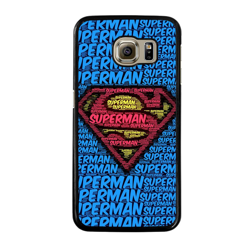 SUPERMAN LOGO ART Cover Samsung Galaxy S6