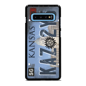 SUPERNATURAL LICENSE PLATE CUSTOM Cover Samsung Galaxy S10 Plus