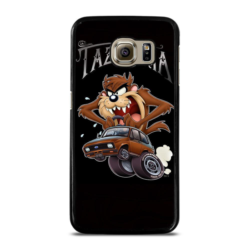 TAZMANIA LOONEY TUNES CARTOON Cover Samsung Galaxy S6