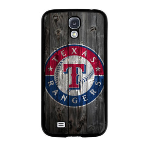 TEXAS RANGERS WOODEN LOGO Cover Samsung Galaxy S4