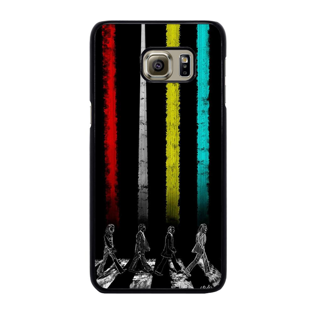 THE BEATLES COLOR ROAD Cover Samsung Galaxy S6 Edge Plus