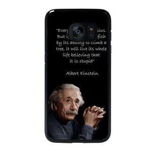 THE GENIUS ALBERT EINSTEIN QUOTE Cover Samsung Galaxy S7 Edge,cover s7 edge the witcher s view cover s7 edge gold,THE GENIUS ALBERT EINSTEIN QUOTE Cover Samsung Galaxy S7 Edge