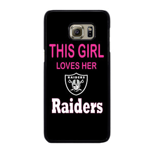 THIS GIRL LOVES THE RAIDERS Cover Samsung Galaxy S6 Edge Plus