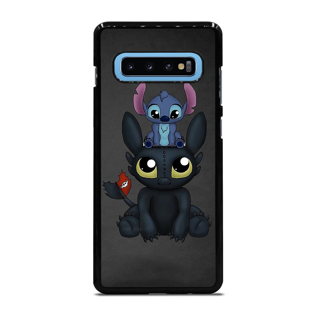 TOOTHLESS AND STITCH 2 Cover Samsung Galaxy S10 Plus