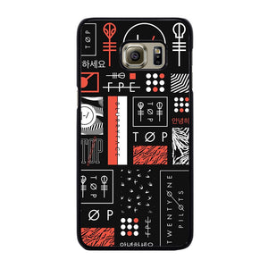 TWENTY ONE PILOTS BLURRYFACE ART Cover Samsung Galaxy S6 Edge Plus