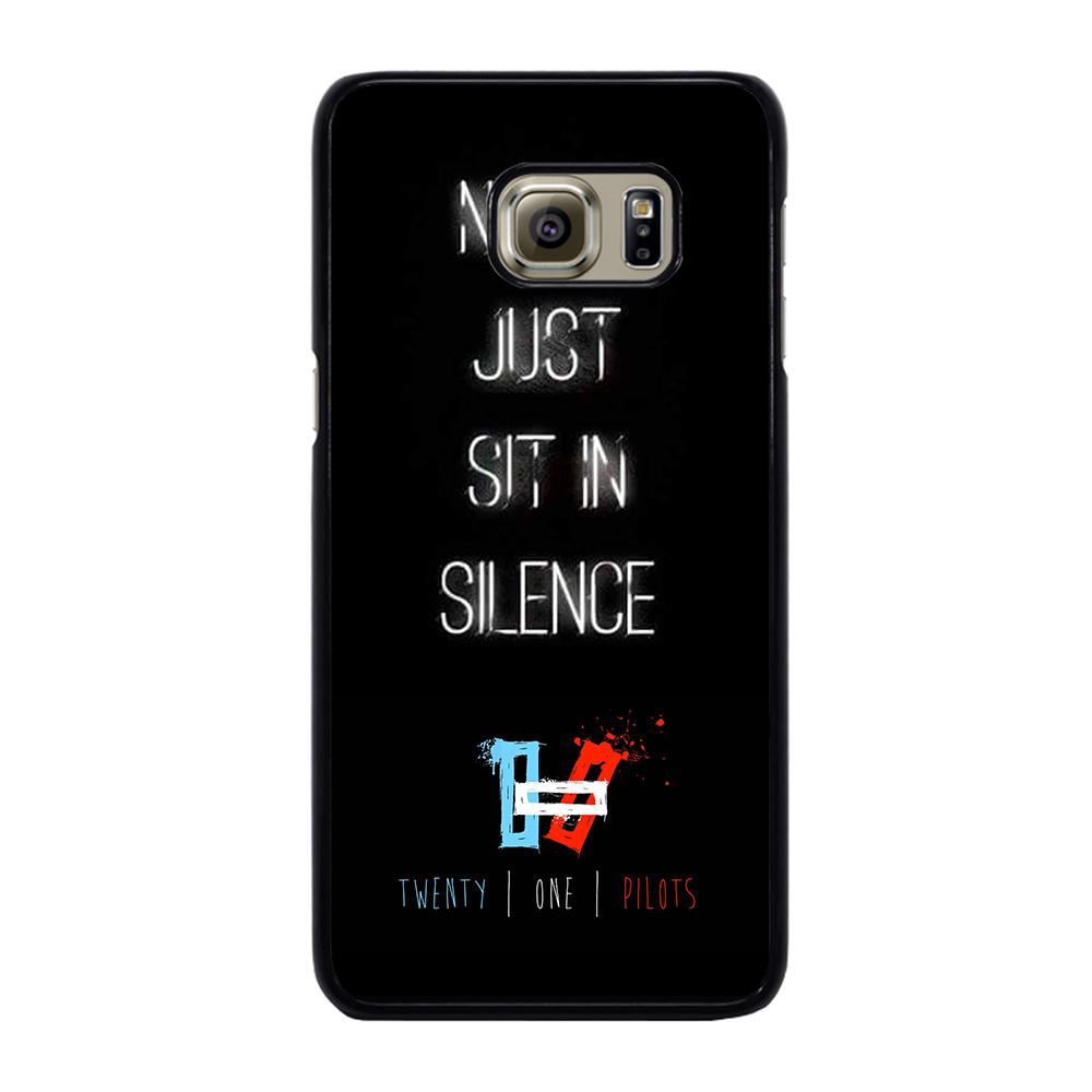 TWENTY ONE PILOTS SIT IN SILENCE Cover Samsung Galaxy S6 Edge Plus