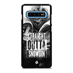 UNDERTALE STRAIGHT OUTTA SNOWDIN Cover Samsung Galaxy S10 Plus