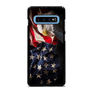 USA PATRIOTIC EAGLE FLAG 2 Cover Samsung Galaxy S10 Plus