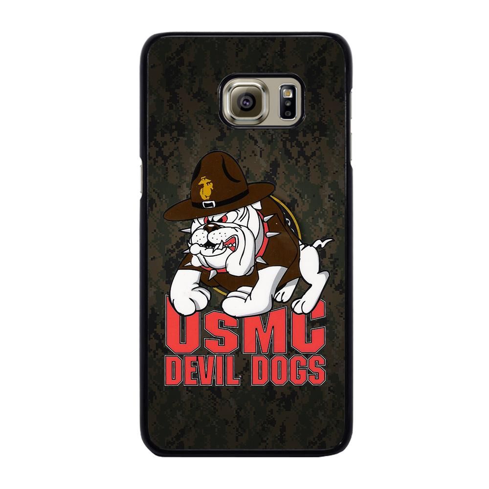 USMC MARINE DEVIL DOGS Cover Samsung Galaxy S6 Edge Plus