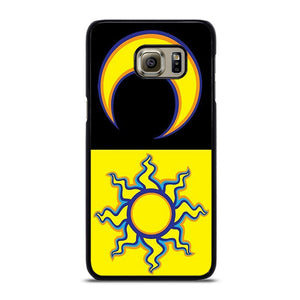 VALENTINO ROSSI 46 SUN MOON Cover Samsung Galaxy S6 Edge Plus