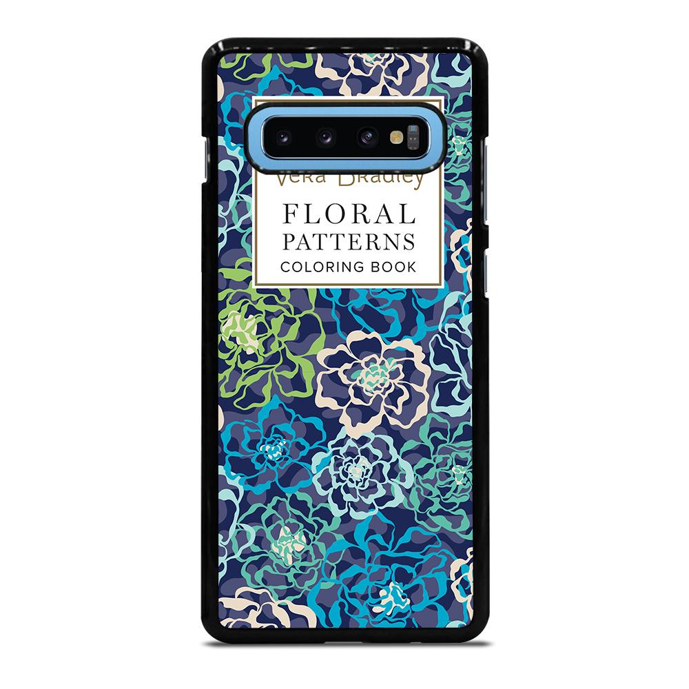 VERA BRADLEY VB FLORAL PATTERNS CB Cover Samsung Galaxy S10 Plus
