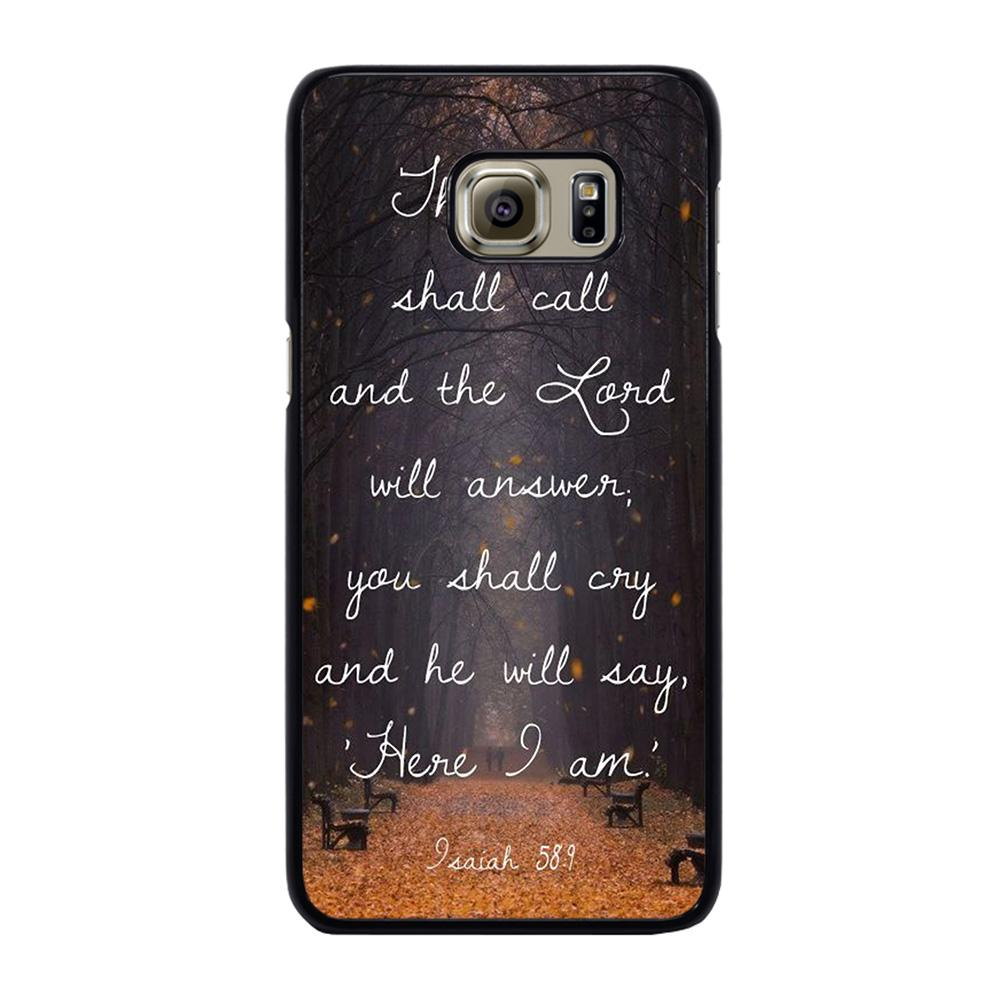 VERSES BIBLE SCRIPTURES Cover Samsung Galaxy S6 Edge Plus
