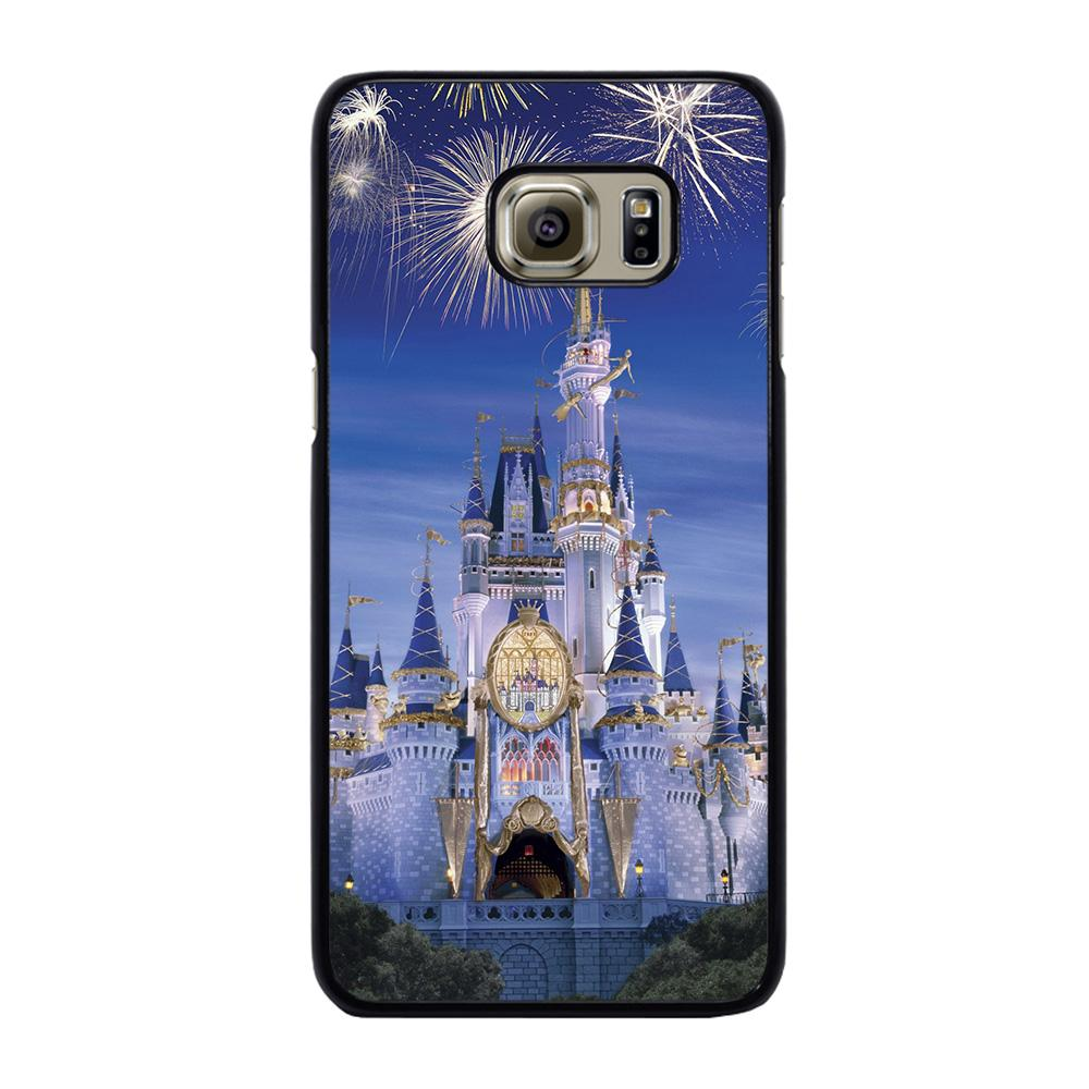 WALT DISNEY CASTLE FIREWORKS Cover Samsung Galaxy S6 Edge Plus