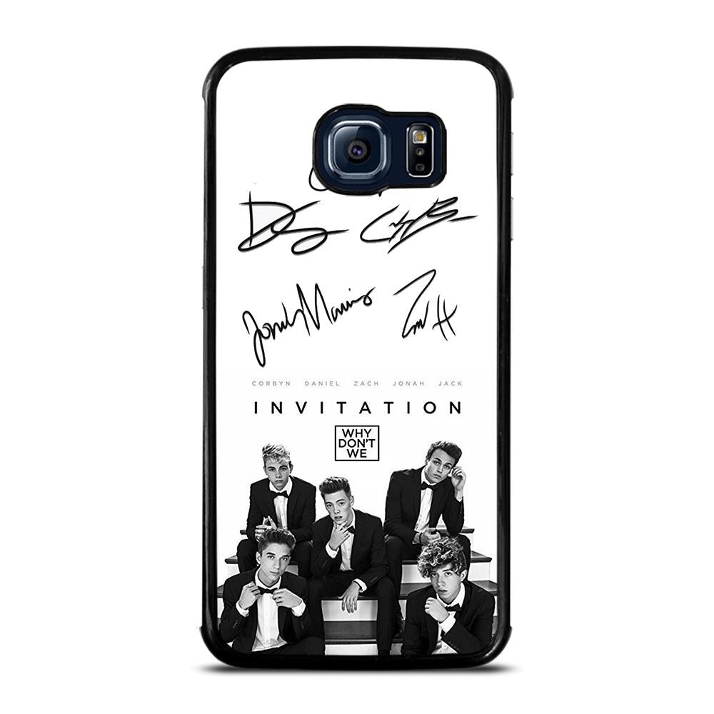 WHY DON'T WE SIGNATURE 2 Cover Samsung Galaxy S6 Edge