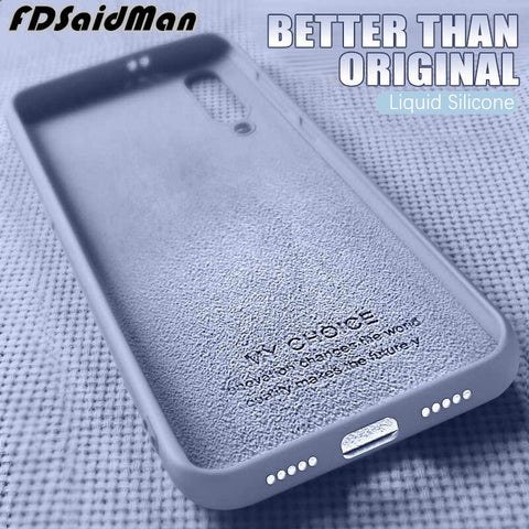 XTCASE Custodia iPhone 11 PRO Max Silicone Liquido Case Ultra