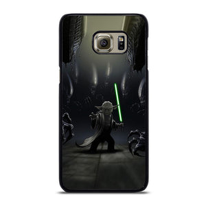 YODA VS ALIENS Cover Samsung Galaxy S6 Edge Plus