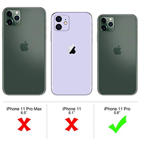 YOUNME COVER IPHONE 11 Pro Trasparente Sottile Silicone TPU