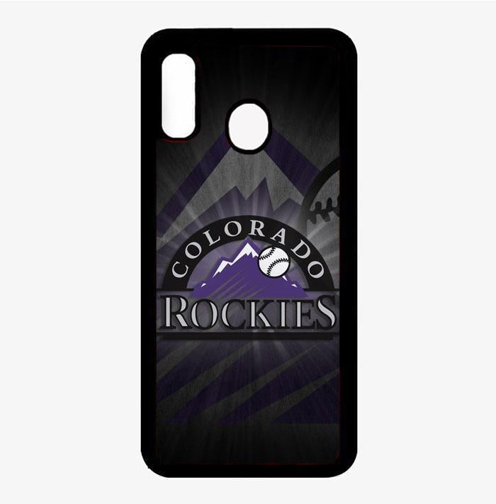 coque custodia cover fundas hoesjes j3 J5 J6 s20 s10 s9 s8 s7 s6 s5 plus edge B15742 Colorado Rockies FF0050 Samsung Galaxy A20 Case