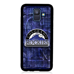 coque custodia cover fundas hoesjes j3 J5 J6 s20 s10 s9 s8 s7 s6 s5 plus edge B15756 Colorado Rockies FF0051 Samsung Galaxy A6 2018 Case