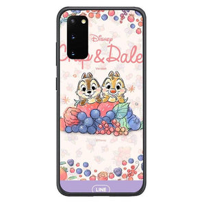 coque custodia cover fundas hoesjes j3 J5 J6 s20 s10 s9 s8 s7 s6 s5 plus edge B15504 Chip & Dale FF0159 Samsung Galaxy S20 Case