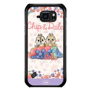 coque custodia cover fundas hoesjes j3 J5 J6 s20 s10 s9 s8 s7 s6 s5 plus edge B15487 Chip & Dale FF0159 Samsung Galaxy S6 Active Case