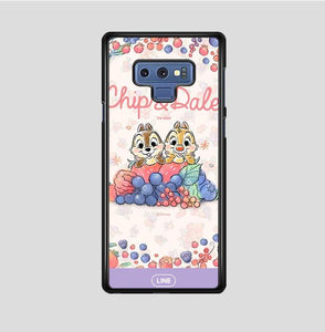 coque custodia cover fundas hoesjes j3 J5 J6 s20 s10 s9 s8 s7 s6 s5 plus edge B15501 Chip & Dale FF0159 Samsung Galaxy Note 9 Case