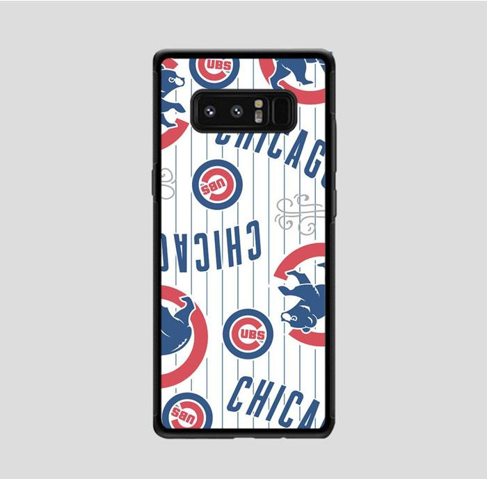 coque custodia cover fundas hoesjes j3 J5 J6 s20 s10 s9 s8 s7 s6 s5 plus edge B15477 Chichago Cubs FF0226 Samsung Galaxy Note 8 Case