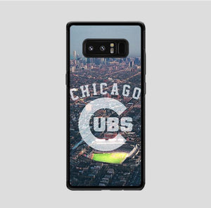 coque custodia cover fundas hoesjes j3 J5 J6 s20 s10 s9 s8 s7 s6 s5 plus edge B15400 Chicago Cubs City FF0227 Samsung Galaxy Note 8 Case