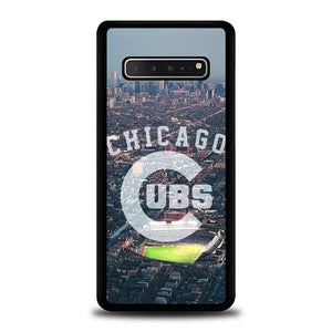 coque custodia cover fundas hoesjes j3 J5 J6 s20 s10 s9 s8 s7 s6 s5 plus edge B15402 Chicago Cubs City FF0227 Samsung Galaxy S10 5G Case
