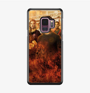 coque custodia cover fundas hoesjes j3 J5 J6 s20 s10 s9 s8 s7 s6 s5 plus edge B15451 Chicago Fire FF0357 Samsung Galaxy S9 Case
