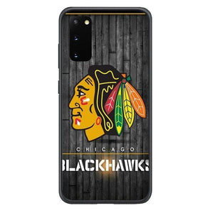 coque custodia cover fundas hoesjes j3 J5 J6 s20 s10 s9 s8 s7 s6 s5 plus edge B15298 Chicago Blackwaks FF0369 Samsung Galaxy S20 Case