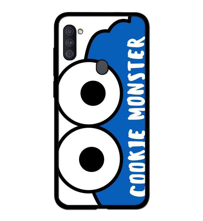 coque custodia cover fundas hoesjes j3 J5 J6 s20 s10 s9 s8 s7 s6 s5 plus edge B15899 Cookie Monster FF0451 Samsung Galaxy A11 Case