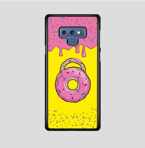 coque custodia cover fundas hoesjes j3 J5 J6 s20 s10 s9 s8 s7 s6 s5 plus edge B15619 Circle Doughnut FF0468 Samsung Galaxy Note 9 Case