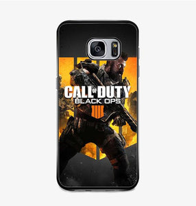 coque custodia cover fundas hoesjes j3 J5 J6 s20 s10 s9 s8 s7 s6 s5 plus edge B15704 COd Black Ops 4 FF0570 Samsung Galaxy S7 Case