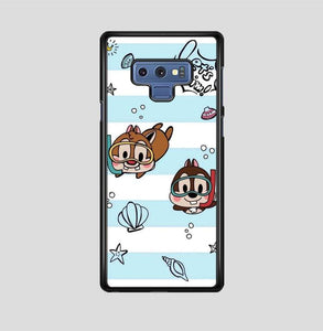coque custodia cover fundas hoesjes j3 J5 J6 s20 s10 s9 s8 s7 s6 s5 plus edge B15510 Chip And Dale Blue FF0715 Samsung Galaxy Note 9 Case