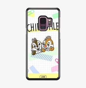 coque custodia cover fundas hoesjes j3 J5 J6 s20 s10 s9 s8 s7 s6 s5 plus edge B15546 Chip Dale FF0716 Samsung Galaxy S9 Case