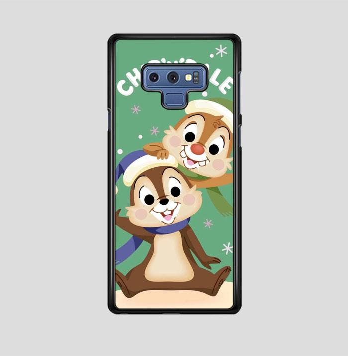 coque custodia cover fundas hoesjes j3 J5 J6 s20 s10 s9 s8 s7 s6 s5 plus edge B15551 Chip N Dale FF0717 Samsung Galaxy Note 9 Case