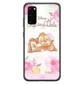 coque custodia cover fundas hoesjes j3 J5 J6 s20 s10 s9 s8 s7 s6 s5 plus edge B15527 Chip And Dale FF0718 Samsung Galaxy S20 Case