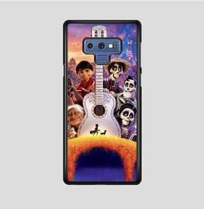 coque custodia cover fundas hoesjes j3 J5 J6 s20 s10 s9 s8 s7 s6 s5 plus edge B15679 Coco Guitar FF10052 Samsung Galaxy Note 9 Case