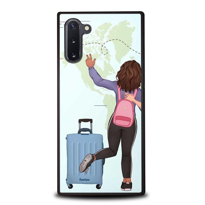 coque custodia cover fundas hoesjes j3 J5 J6 s20 s10 s9 s8 s7 s6 s5 plus edge B15971 Couple Traveller FF5139 Samsung Galaxy Note 10 Case