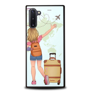 coque custodia cover fundas hoesjes j3 J5 J6 s20 s10 s9 s8 s7 s6 s5 plus edge B15980 Couple Traveller FF5140 Samsung Galaxy Note 10 Case