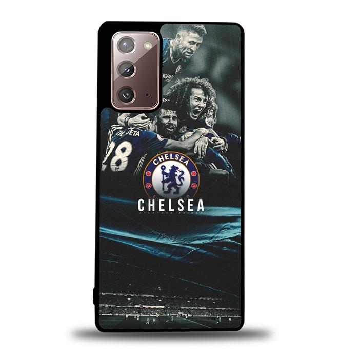 coque custodia cover fundas hoesjes j3 J5 J6 s20 s10 s9 s8 s7 s6 s5 plus edge B15208 Chelsea Team B0371 Samsung Galaxy Note 20 Case
