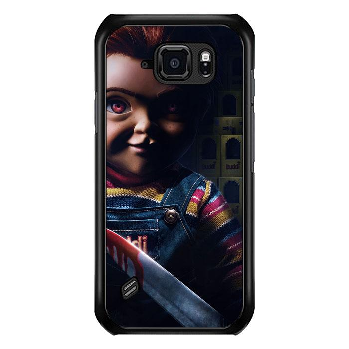 coque custodia cover fundas hoesjes j3 J5 J6 s20 s10 s9 s8 s7 s6 s5 plus edge B15559 CHUCKY B0132 Samsung Galaxy S6 Active Case