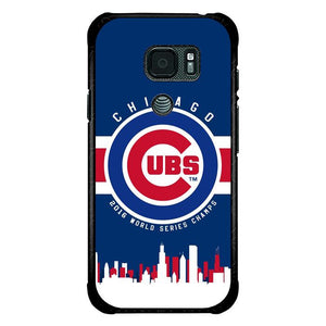 coque custodia cover fundas hoesjes j3 J5 J6 s20 s10 s9 s8 s7 s6 s5 plus edge B15434 CHICAGO CUBS LOGO B0179 Samsung Galaxy S7 Active Case