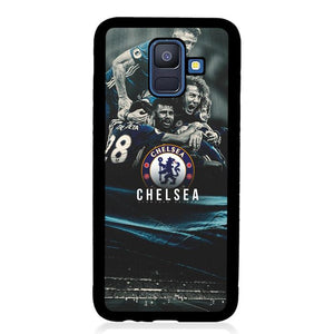 coque custodia cover fundas hoesjes j3 J5 J6 s20 s10 s9 s8 s7 s6 s5 plus edge B15197 Chelsea Team B0371 Samsung Galaxy A6 2018 Case